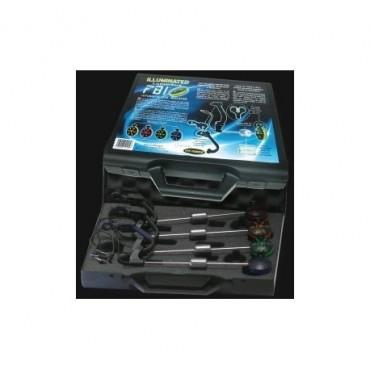 Набор свингеров Fun Fishing Illuminated FBI Box of 4 Set (Version Delkim)