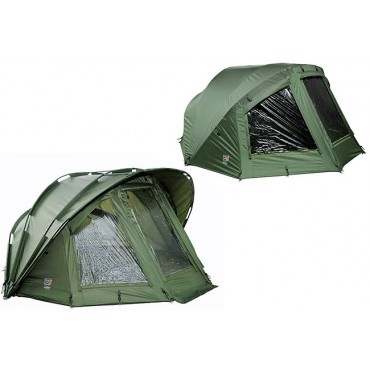 Карповая палатка с накидкой