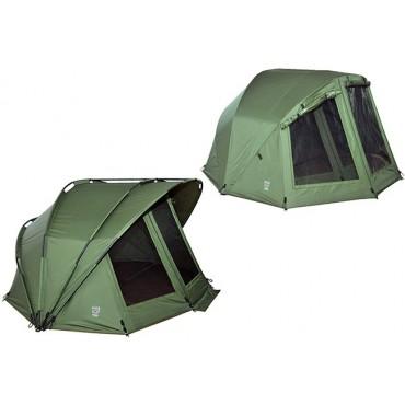 Карповая палатка с накидкой Ehmanns HOT SPOT Rock 2 Man Bundle