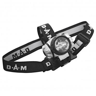 Фонарик для рыбалки (налобный) DAM 7 LED HEADLAMP