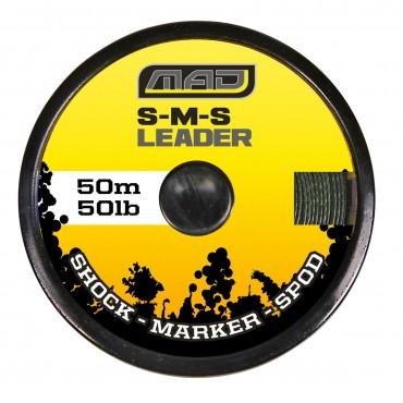 Стартовый шнур (шок лидер) DAM MAD S-M-S LEADER 50 LB 50 M купить