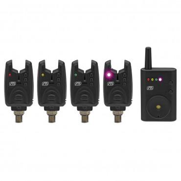 Набор электронных сигнализаторов MAD NANO WIRELESS ALARM SET 4+1