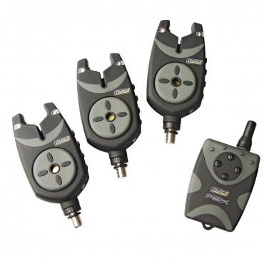 Набор электронных сигнализаторов поклевки MAD FSX G2 4+1 BITE ALARM SET