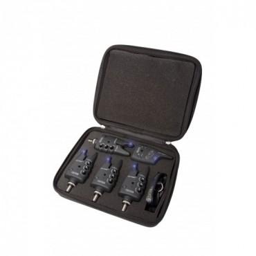 Набор электронных сигнализаторов поклевки Flajzar FISHTRON Q9-TX-RGB 4+1