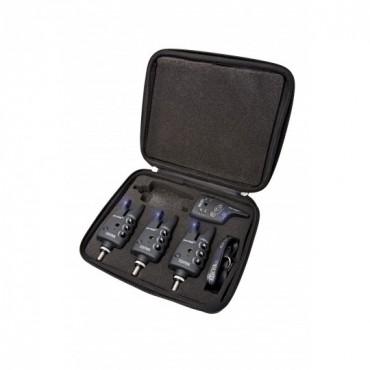 Набор электронных сигнализаторов поклевки Flajzar FISHTRON Q9-TX-RGB 3+1