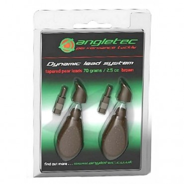 Грузило карповое Angletec Dynamic Lead System Packs Brown купить