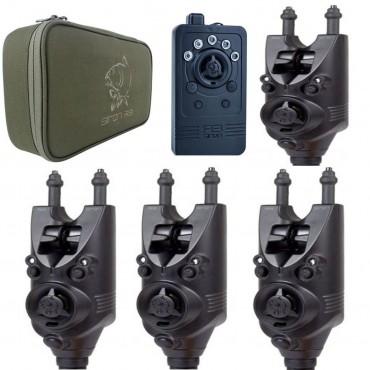 Набор электронных сигнализаторов Nash Siren R3 Bite Alarm 4+1