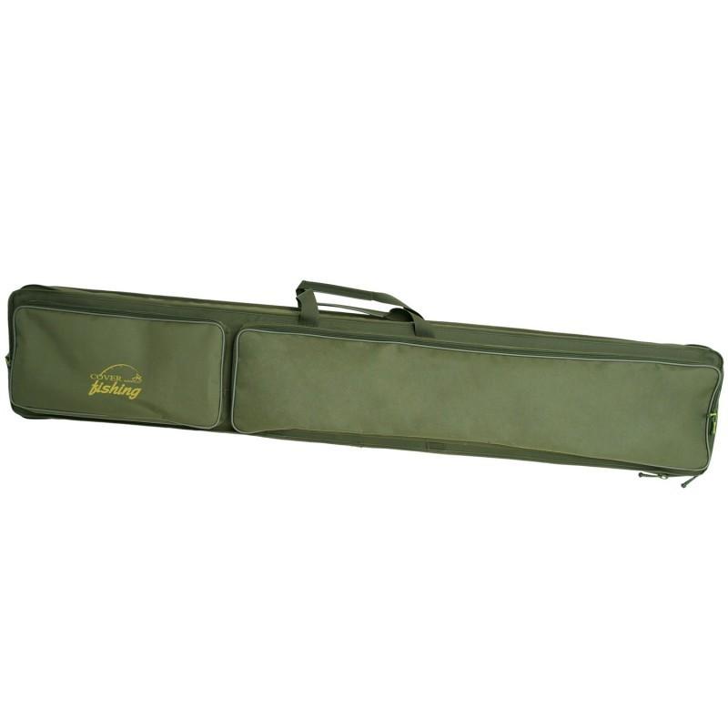 Чехол (кофр) для удочек и спиннингов жесткий Acropolis КВ-2 145 см купить