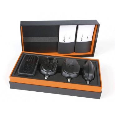Набор электронных сигнализаторов поклевки Fox RX+® 3-ROD PRESENTATION SET 3+1