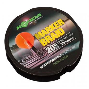 Шнур для рыбалки Korda Marker Braid 20 lb 300 m купить