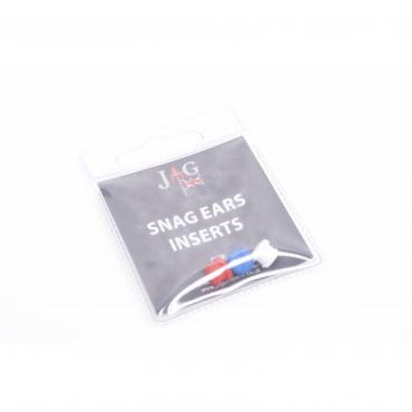 Резиновые вставки JAG Products Snag Ear Red, White & Blue Inserts (Pk 3) NEW