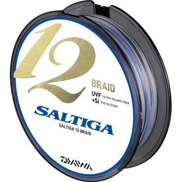 Плетеный Шнур Daiwa SALTIGA 12 Braid 0.16 mm 300 m Multicolor купить