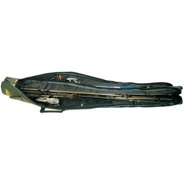 Чехол для удилищ с катушками мягкий двухсекционный мягкий Acropolis КВ-3в 135 см купить