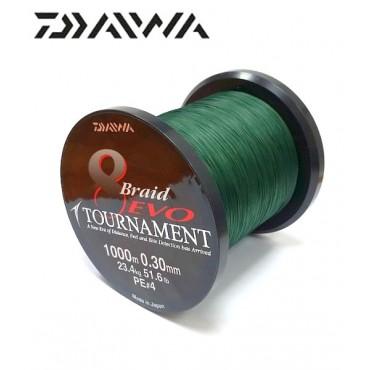 Плетеный шнур для рыбалки Daiwa Tournament 8 Braid Evo 0.35 mm 1000 m купить