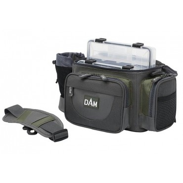 Сумка для рыбалки с коробками DAM HIP & SHOULDER BAGS