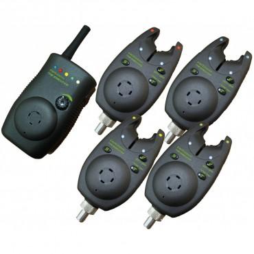 Набор электронных сигнализаторов поклевки PELZER The Executive 4+1