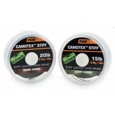 Поводочный материал Fox EDGES CAMOTEX STIFF 20 м