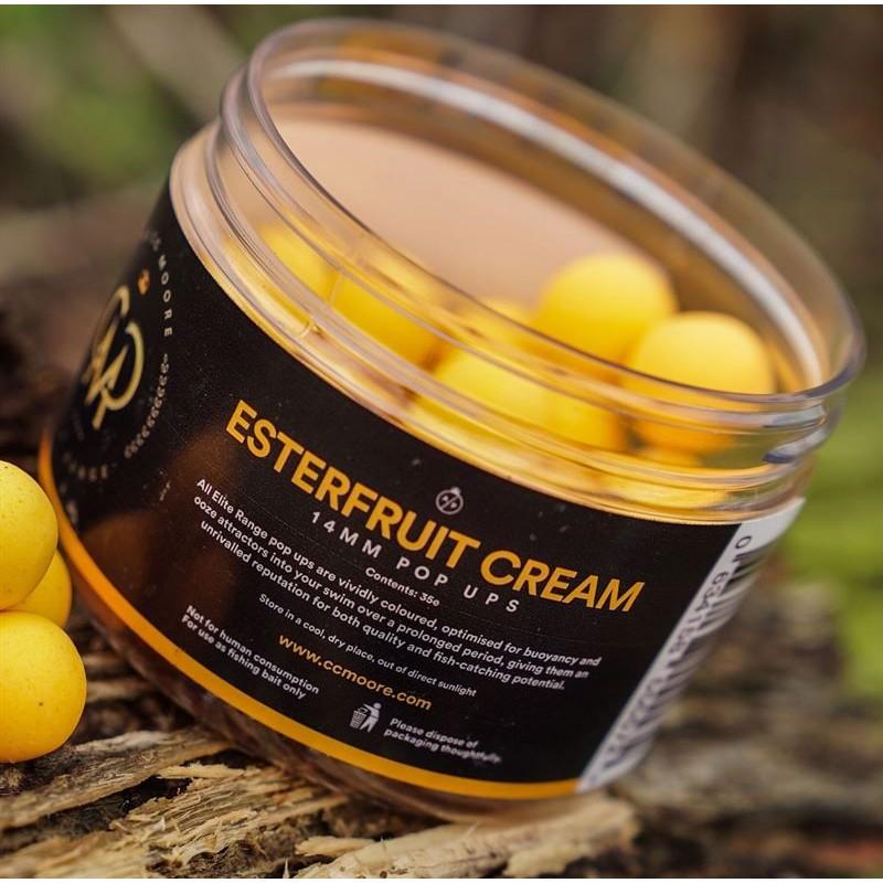 CC Moore Elite Pop Ups Esterfruit Cream 12mm