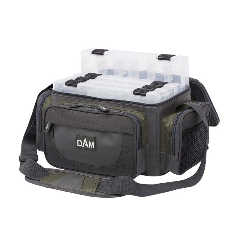 Сумка для рыбалки с коробками DAM SPINNING BAGS