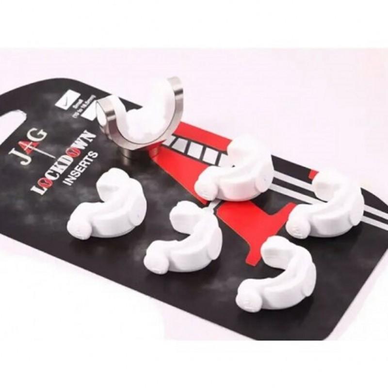 Резиновые вставки JAG Products Soft Grip Inserts White