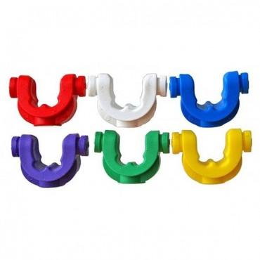 Резиновые вставки JAG Products Soft Grip Inserts Purple