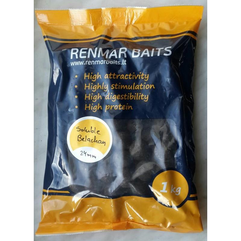 Бойлы растворимые Renmar Baits Soluble Belachan 24 мм 1 кг