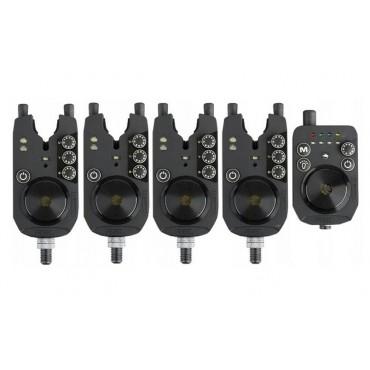 Набор электронных сигнализаторов PROLOGIC R2L BITE ALARM PRESENTATION SET 4+1
